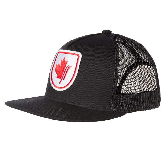 Helly Hansen Flatbrim Trucker cap, sort thumbnail