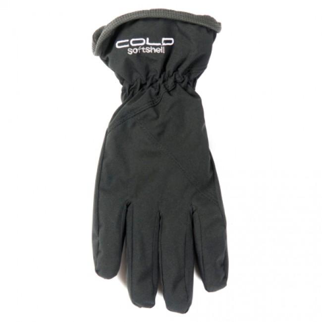 Cold Softshell handske, sort thumbnail
