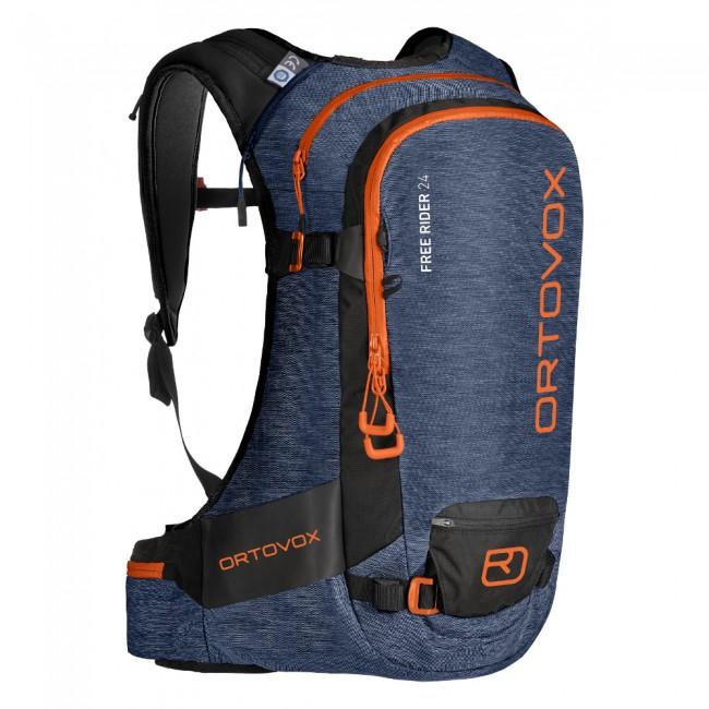 Ortovox Free Rider 24, rygsæk, night blue blend thumbnail