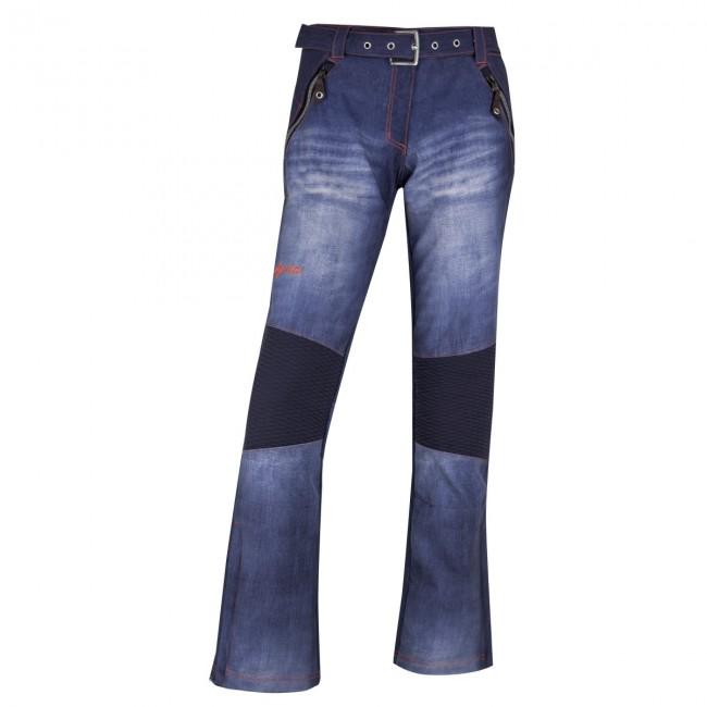 Kilpi Jeanster-W, skibukser, dame, blå thumbnail