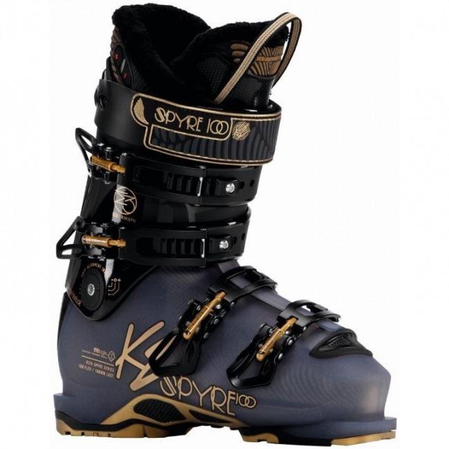 K2 Spyre 100 HV 2017 skistøvler, dame thumbnail