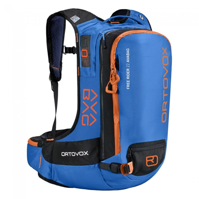 Ortovox Free Rider 22, AVABAG, safety blue thumbnail