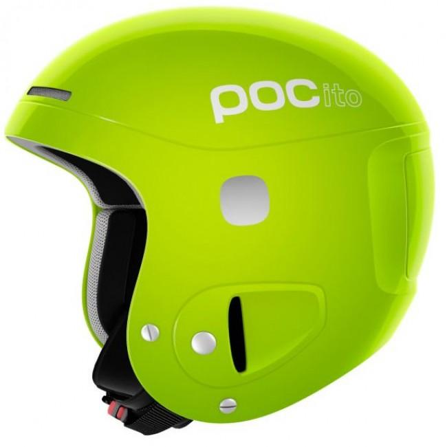 POCito Skull, børne skihjelm, gul/grøn thumbnail
