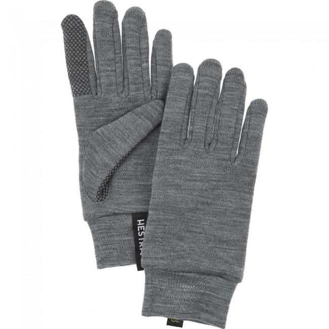 Hestra Merino Touch Point liner, grå thumbnail