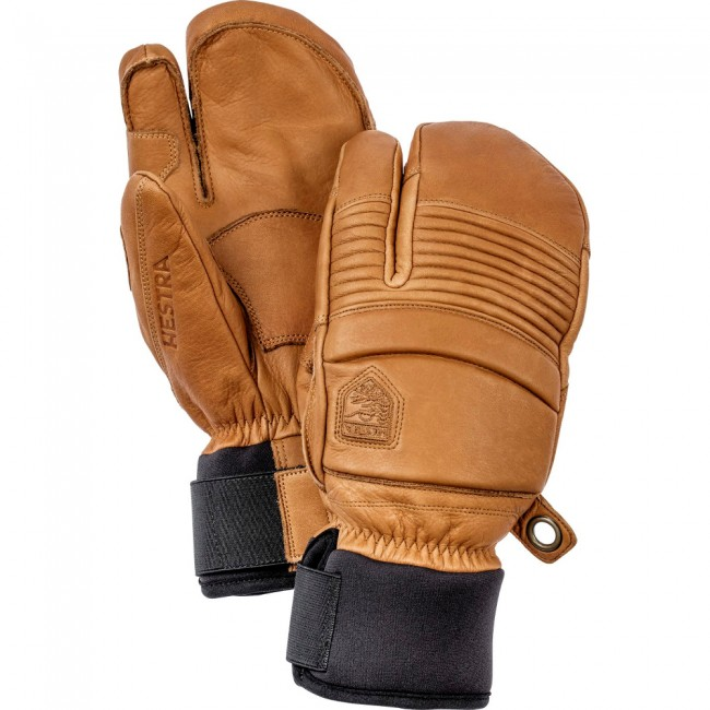 Hestra Leather Fall Line 3-finger skihandsker, kork thumbnail