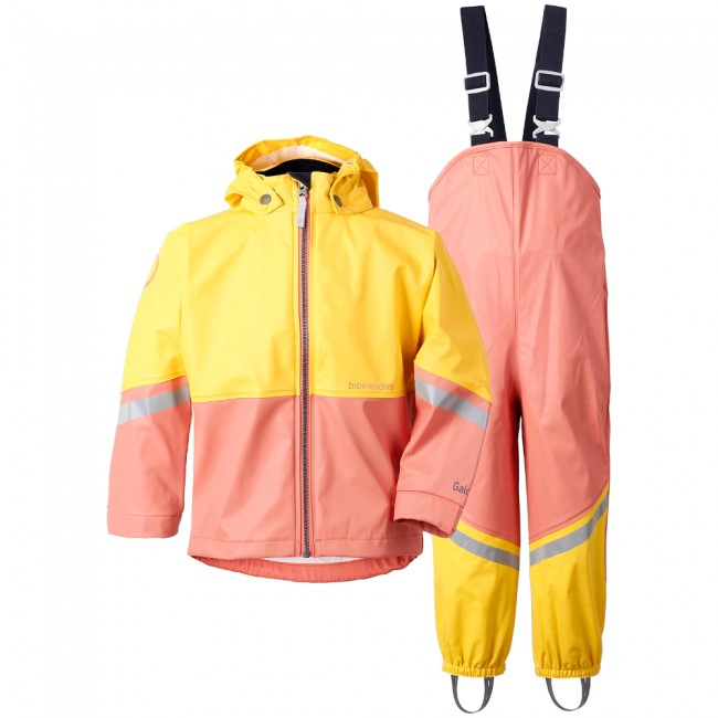 Didriksons Waterman, regnsæt, børn, coral rose thumbnail