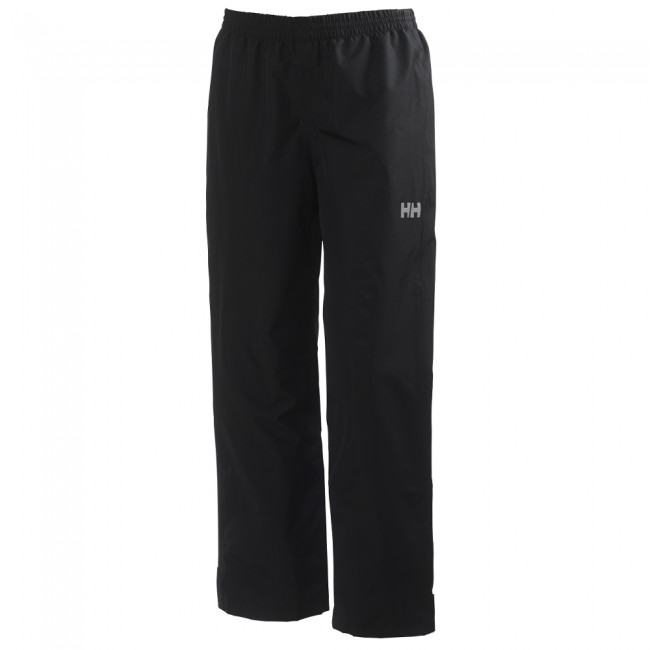Helly Hansen JR Dubliner J, regnbukser, junior, sort thumbnail