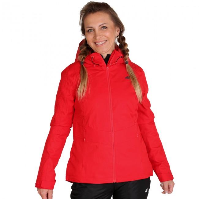 4F Lydia, regnjakke, dame, rød thumbnail
