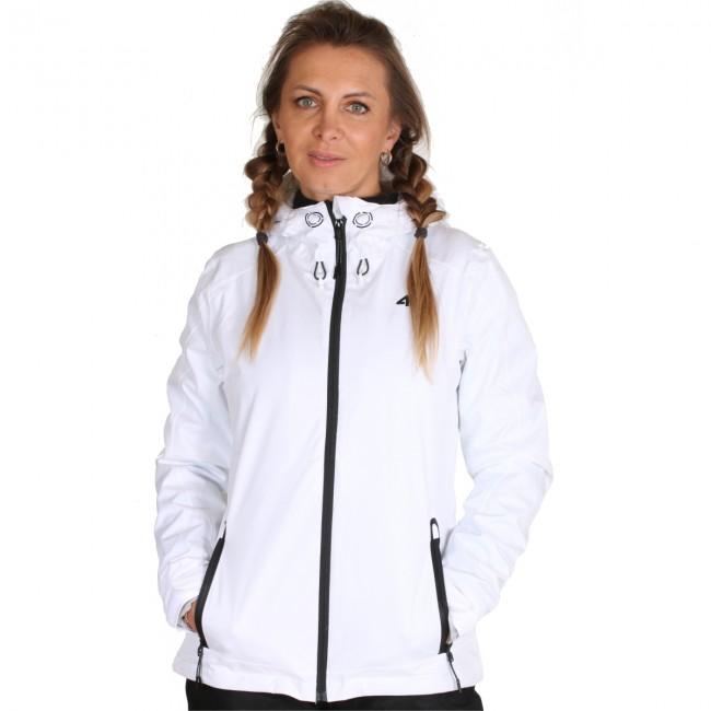 4F Sport Performance 4F Linda, Regnjakke, Dame, Hvid Regntøj Til Damer