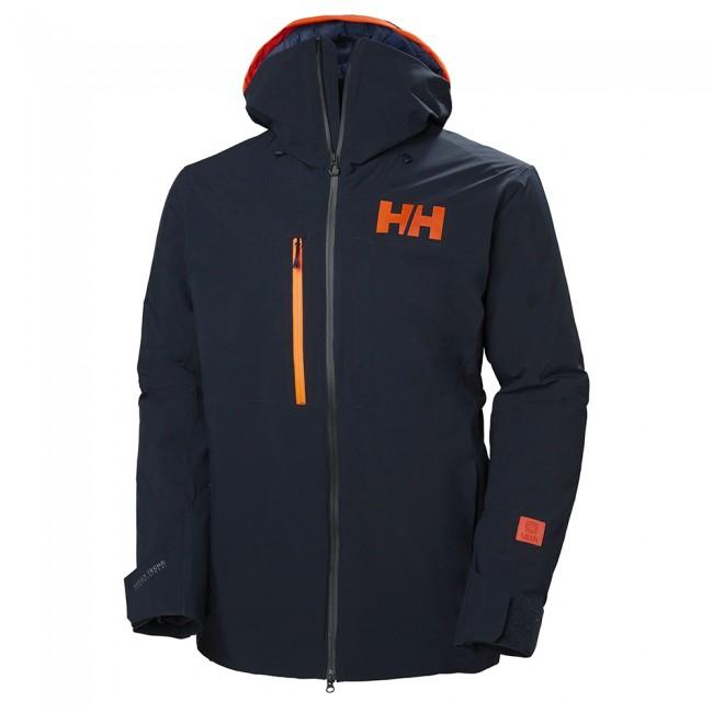 Helly Hansen Firsttrack Lifaloft skijakke, herre, mørkeblå thumbnail