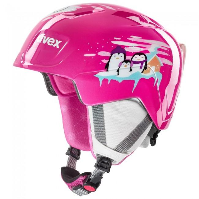 Uvex Manic, skihjelm, pink penguin thumbnail