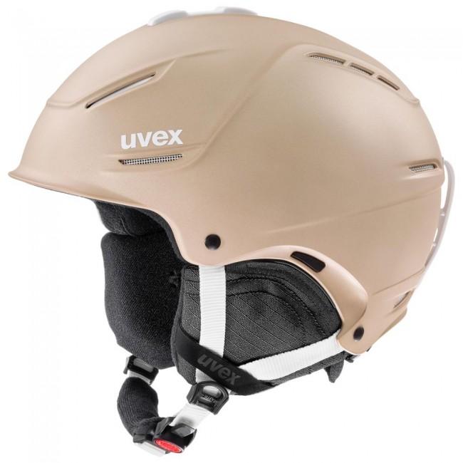 Uvex p1us 2.0 skihjelm, beige thumbnail