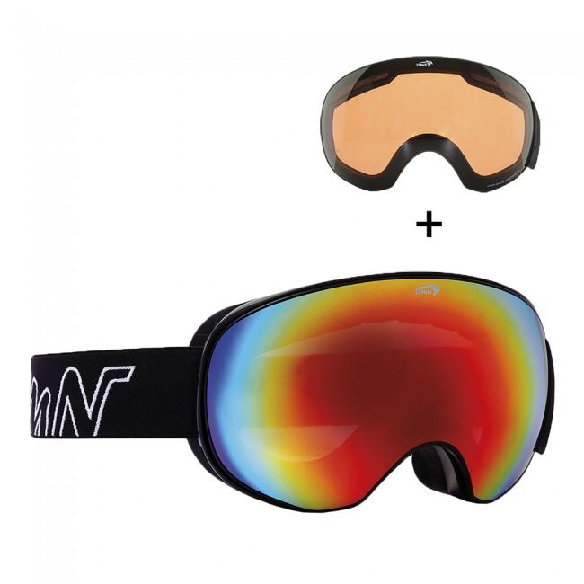 Demon Magnet, skibriller, sort/rød thumbnail