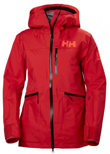 Helly Hansen W Kvitegga Shell Jacket, dame, rød thumbnail