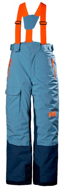 Helly Hansen No Limits skibukser, junior, blue fog thumbnail