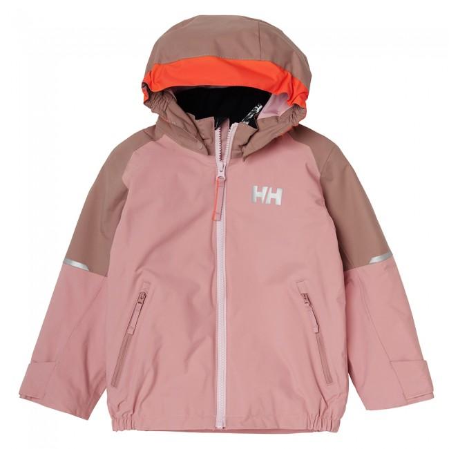 Helly Hansen K Shelter, regnjakke, børn, rosa thumbnail