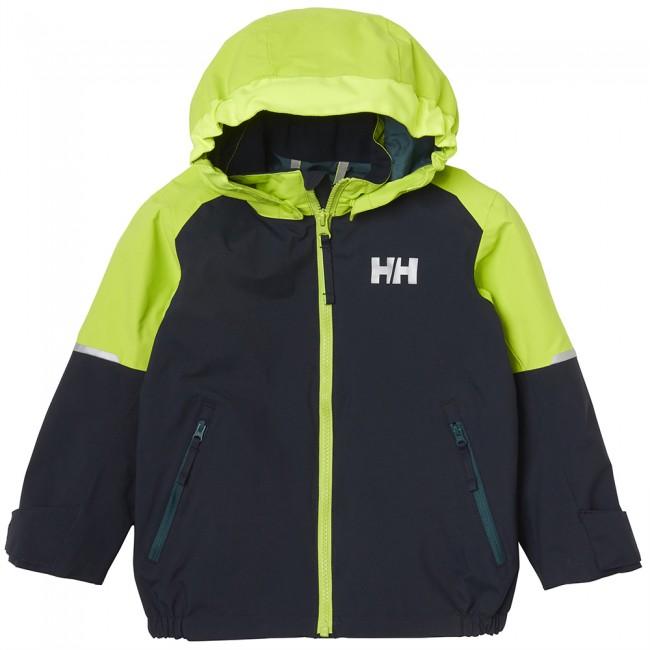 Helly Hansen K Shelter, regnjakke, børn, navy thumbnail