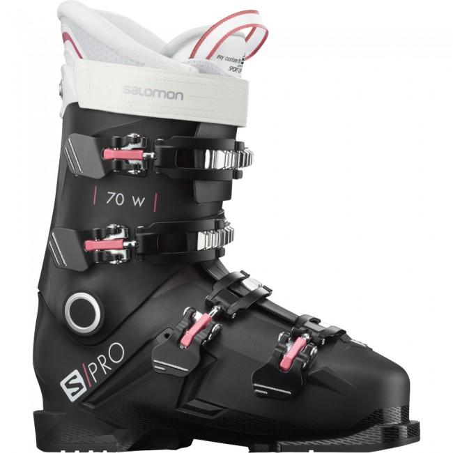 Salomon S/PRO 70, skistøvler, dame, sort thumbnail