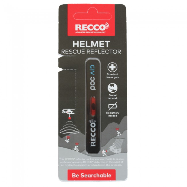 Recco Helmet Rescue, reflector, sort thumbnail