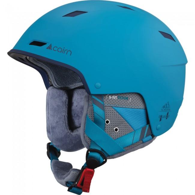 Cairn Equalizer, skihjelm, mat blå thumbnail