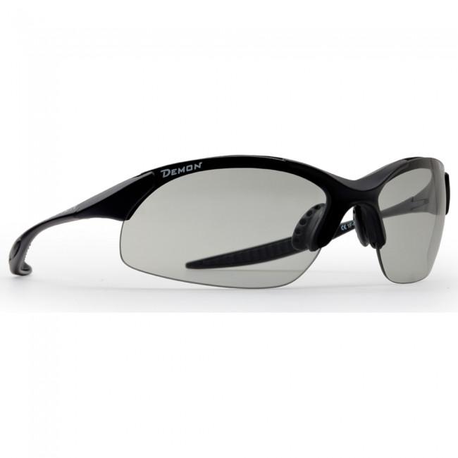 Demon 832 Dchrom Photochromatic, solbriller, mat sort thumbnail