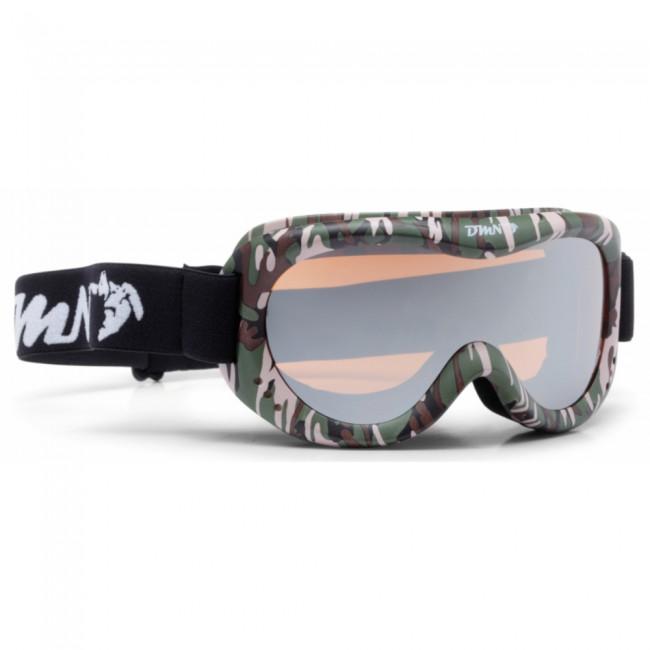 Demon Snow 6 Mirror skibriller, junior, army thumbnail