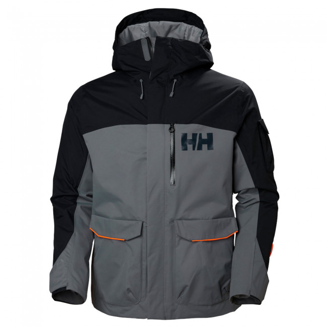 Helly Hansen Fernie 2.0 Jacket, herre, grå/sort thumbnail