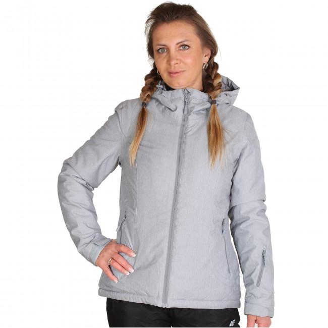 4F Britt skijakke, dame, grå thumbnail