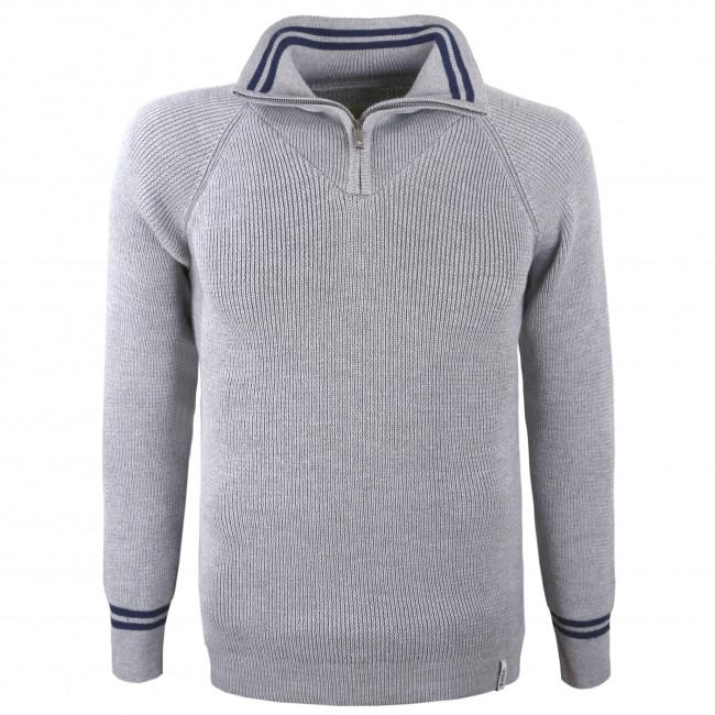 Kama Baldur Merino Sweater, Herre, Grå Fleecetrøjer||,||Skitrøjer Og Skipullies