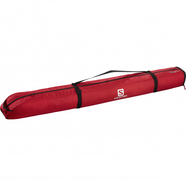 Salomon Extend 1p 165+20 skibag, rød thumbnail