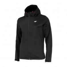 4F Adam, softshell jakke, herre, sort