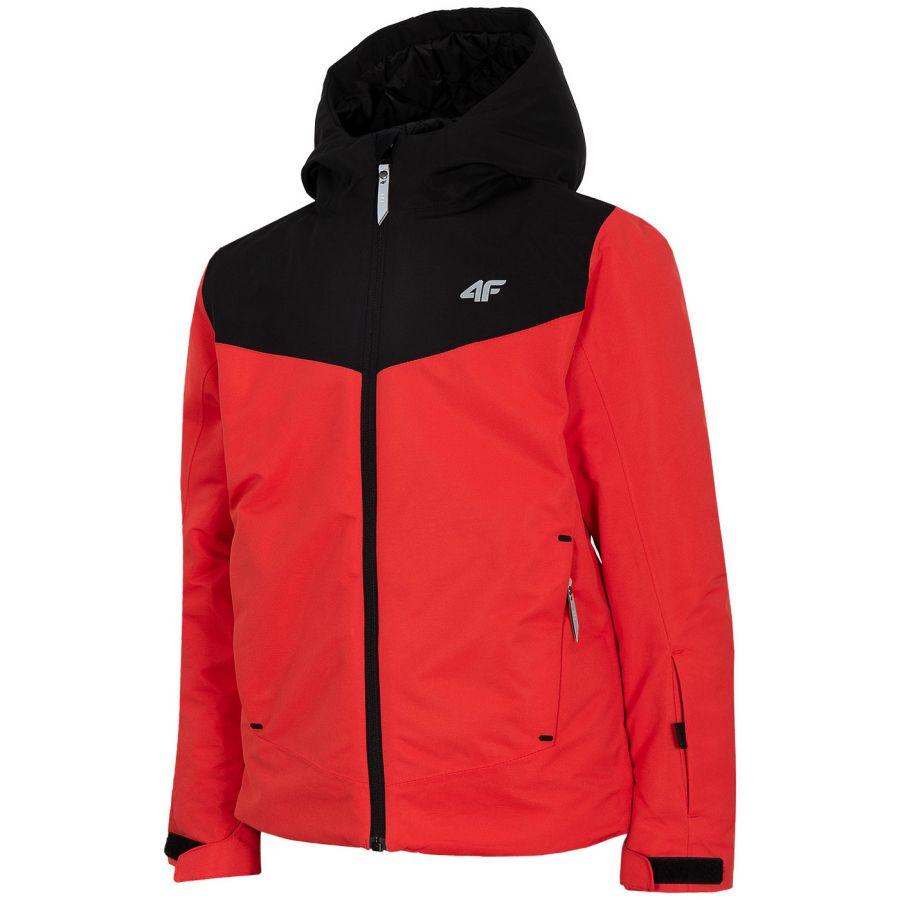 4F Carl, skijakke, junior, rød