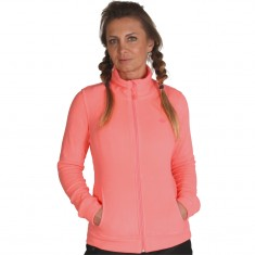 4F dame fleece jakke, coral