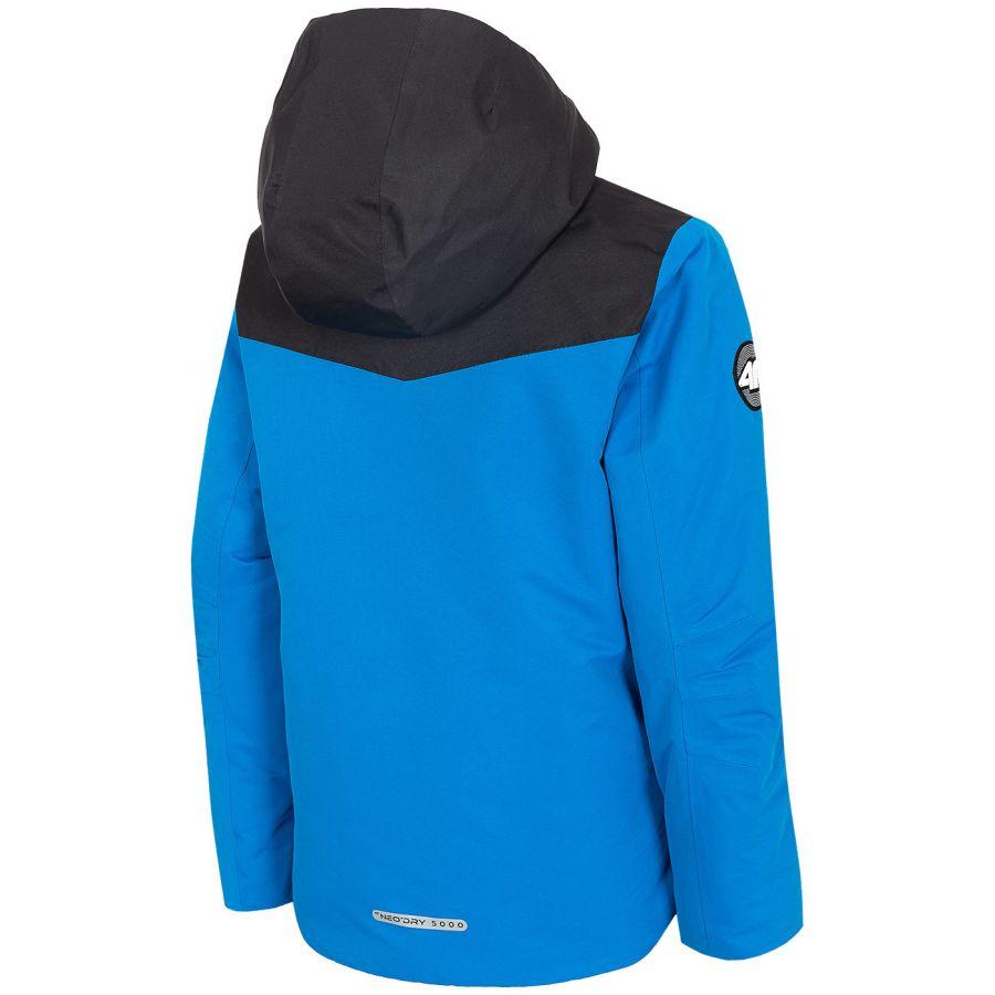 4F Liam, skijakke, junior, blå