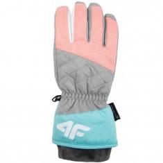 4F NeoDry skihandsker, dame, pink