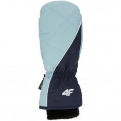 4F skiluffer, dame, blå