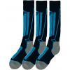 4F skistrømper, 3 par, junior, navy/pink