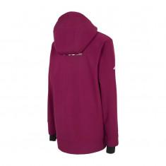4F Sophie, softshell hoodie, dame, bordeaux