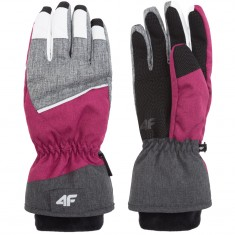 4F Thelma skihandsker, dame, pink