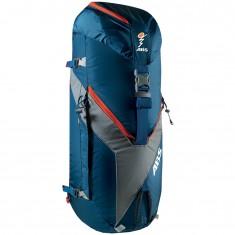 ABS Vario 45+5 Zip On, taske til lavinerygsæk, blå/orange