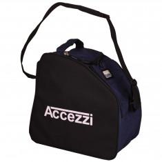 Accezzi Arosa, støvle-og hjelmtaske, blå/sort