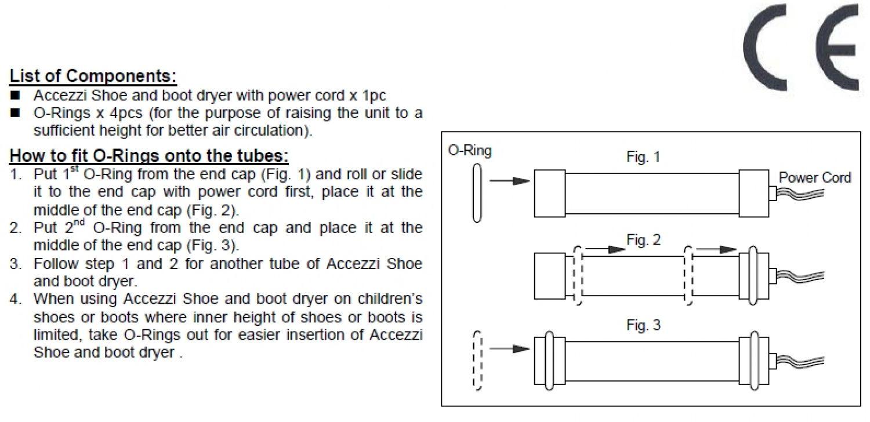 Accezzi sko- og støvlevarmer