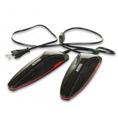 Accezzi sko- og støvlevarmer, sort/rød