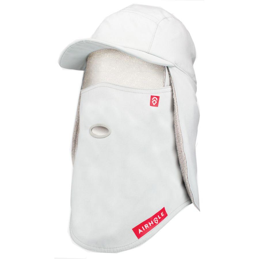 Airhole 5 Panel Hat, grå