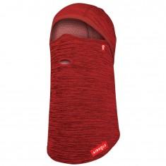 Airhole Balaclava Full Hinge Waffleknit, rød