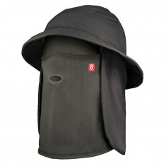 Airhole Bucket Hat, charcoal
