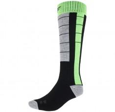4F skistrømper, herre, sort/grøn