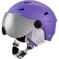 Cairn Electron, skihjelm med visir, junior, lilla