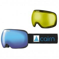 Cairn Gravity, skibriller, mat sort/blå