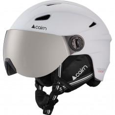 Cairn Impulse skihjelm med visir, hvid